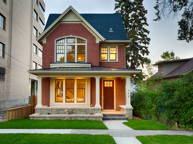 Architects Building Designers Crescent Heights Show Home Traditional Exterior