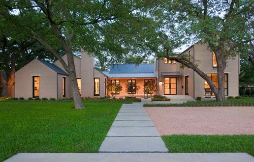 Contemporary Exterior By Dallas Home Builders TATUM BROWN CUSTOM HOMES