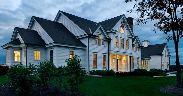Crisp Architects traditional exterior