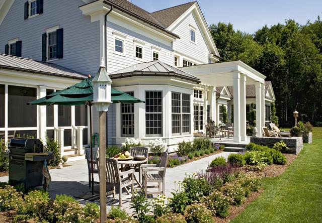 Crisp Architects farmhouse-exterior
