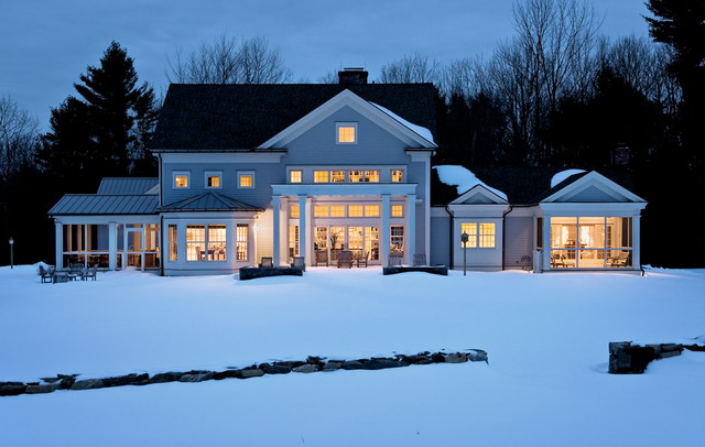 Crisp Architects farmhouse-exterior