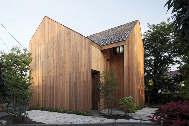 Cross House Japan modern-exterior