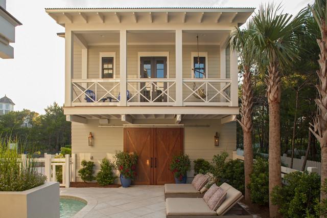 Crouch Residence beach-style-exterior