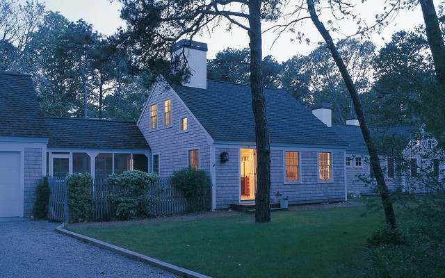 Crow's Pond House traditional-exterior