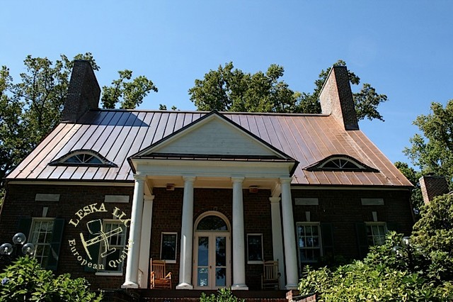 Crownsville Copper Roof standing seam traditional-exterior