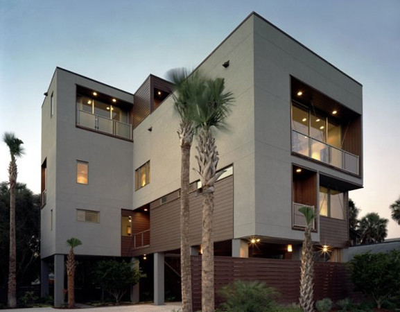Cube 39 s work modern exterior raleigh by cube design for Exterior research and design