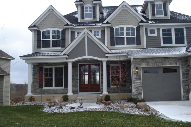 Cultured Stone Exterior Jobs Traditional