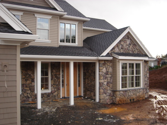 Cultured Stone Veneer Exterior Traditional Exterior Portland on Covered Porches And Outdoor Kitchen