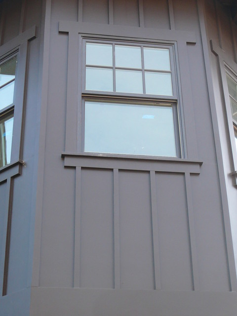 Culver City Craftsman Board And Batten Window Trim