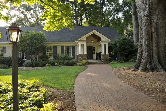 Curb Appeal Traditional Exterior Other Metro By DeRhodes