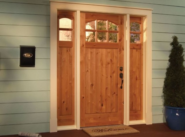 Curb appeal with a new front door craftsman exterior Curb appeal doors