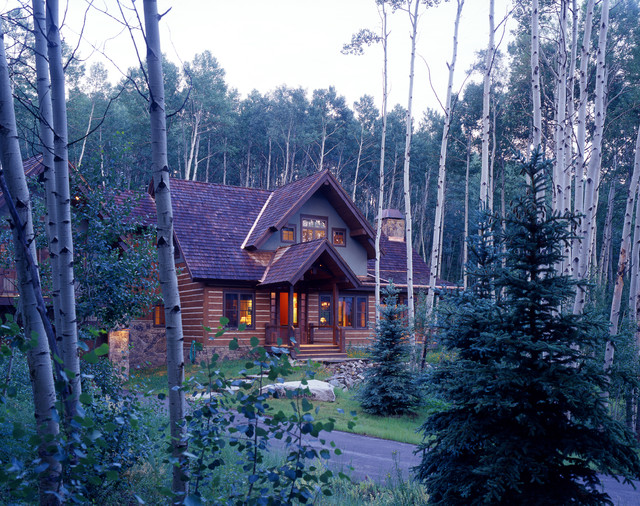 Curtis Residence - Rustic - Exterior - denver - by Daniel J. Murphy Architect, PC