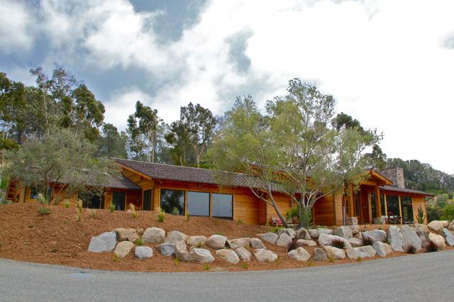 Cushman House eclectic-exterior