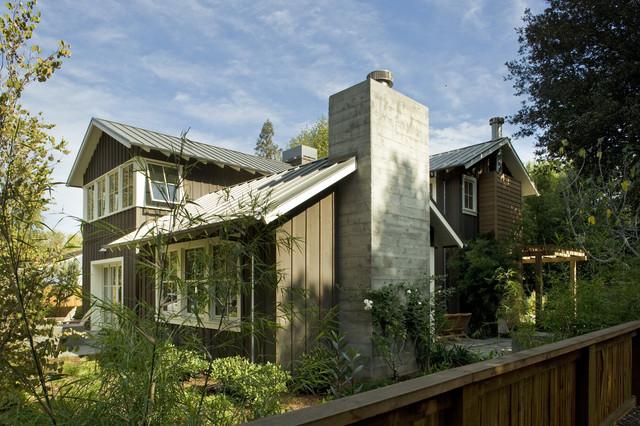 Custom Agrarian Residence transitional-exterior