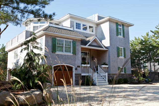 Custom Beach Homes, Long Beach Island, NJ, Jones Contracting, Inc. traditional-exterior