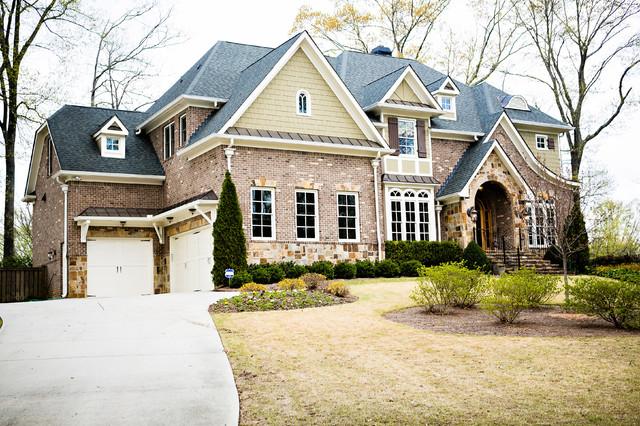 Custom Build In Decatur traditional-exterior