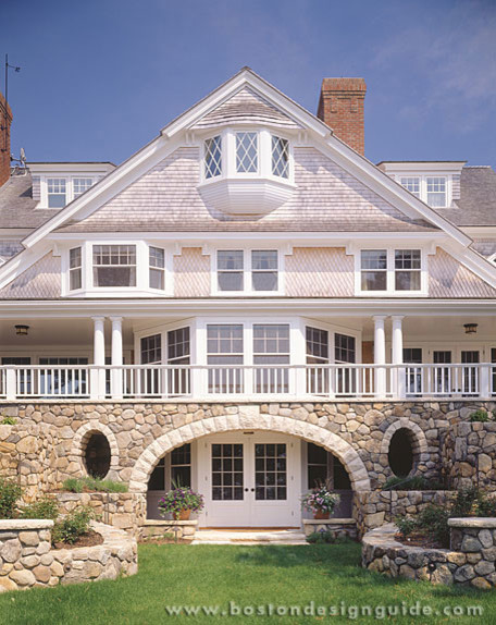 Custom Builders Traditional Exterior Boston By