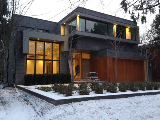 Custom built homes modern exterior toronto by for Custom built home plans