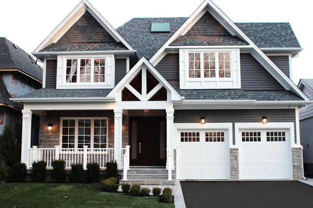 Custom cape cod craftsman exterior toronto by for Cape cod house exterior design