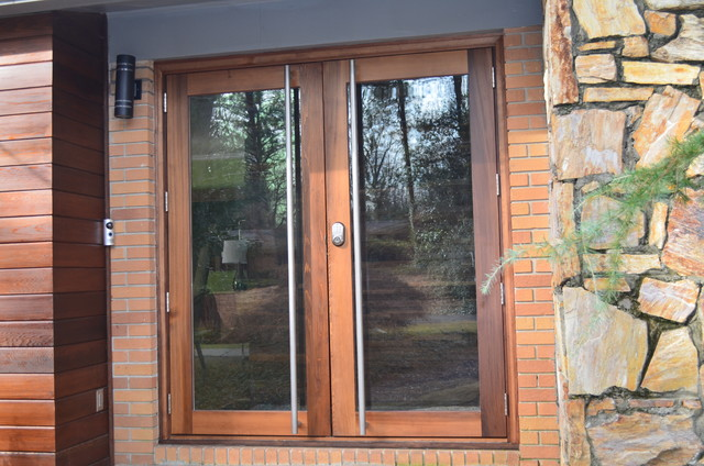 Custom Cedar Entry Door