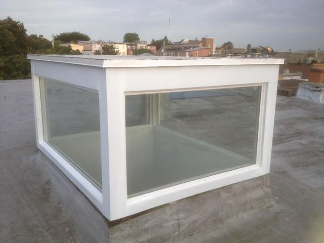 Custom Clerestory Skylight Contemporary Exterior