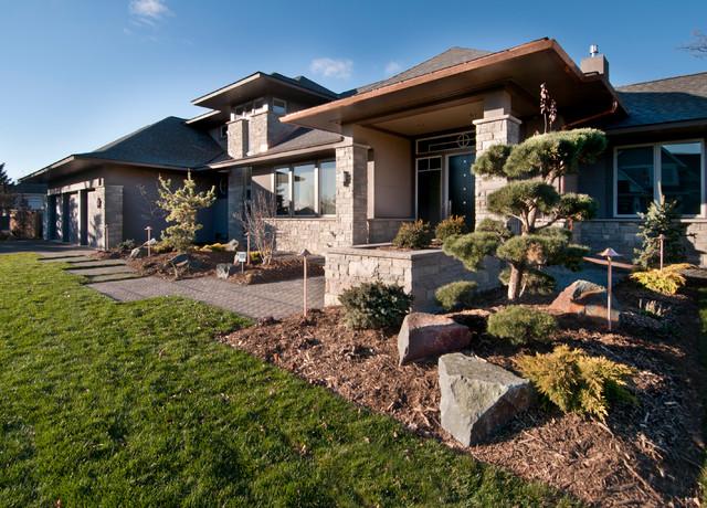 Custom Contemporary Home contemporary-exterior
