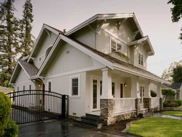 Custom Craftsman traditional exterior