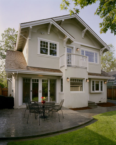 Arts and crafts exterior home photo in San Francisco