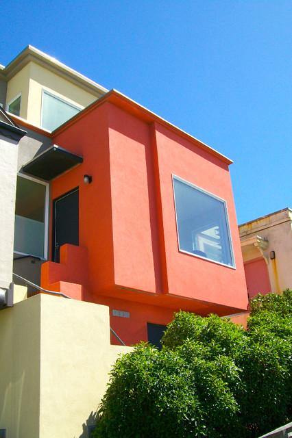 Custom Deck contemporary-exterior