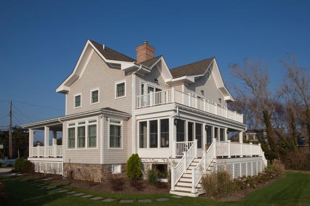 Custom Design/Build in Hampton Bays, Long Island, New York traditional-exterior