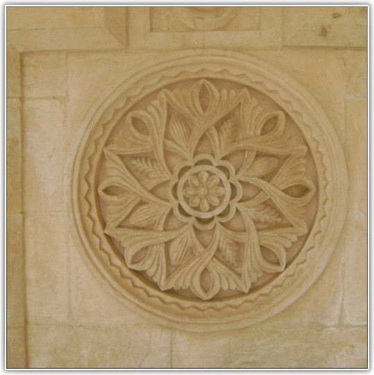 Custom Design Hand Carved Natural Stone Projects traditional-exterior
