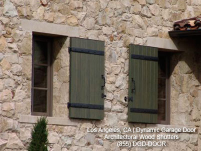 Custom handcrafted architectural shutters mediterranean for Spanish style window shutters