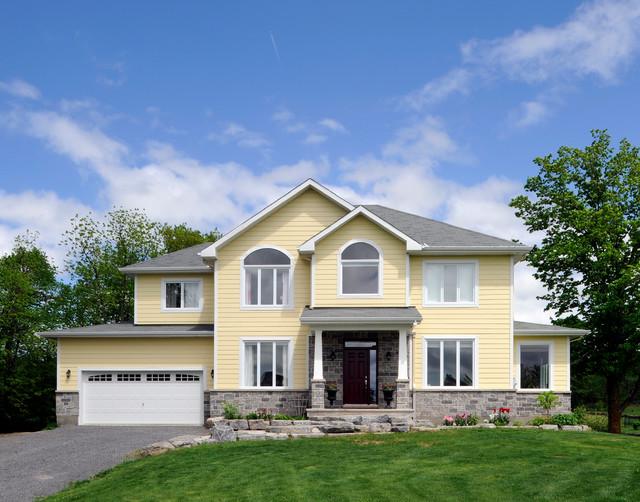 Custom Home 2 traditional-exterior