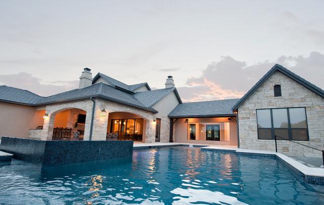 Custom Home: Newcombe Estates I New Braunfels, Texas traditional-exterior