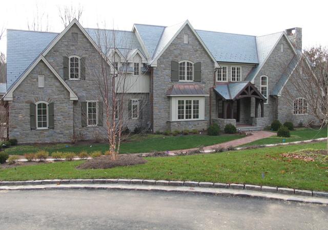 Custom Home 7 traditional-exterior