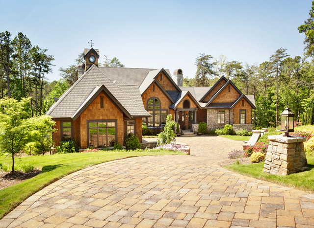 Custom home builder rustic exterior other by for Fairview custom homes