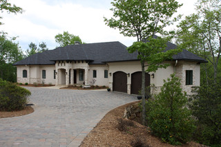 Custom home builder traditional exterior other by for Fairview custom homes