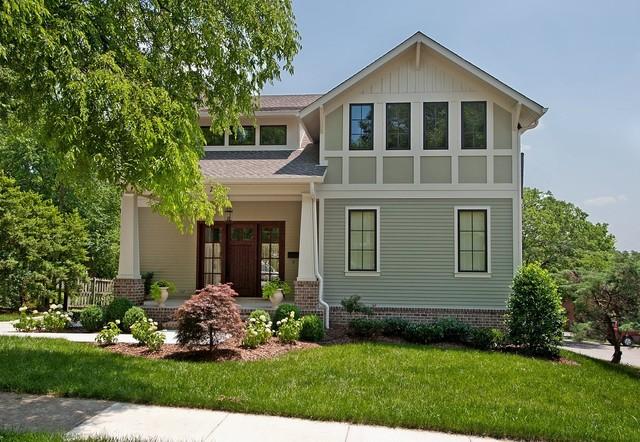 Custom Home by Rob Carpenter Construction: Essex traditional-exterior
