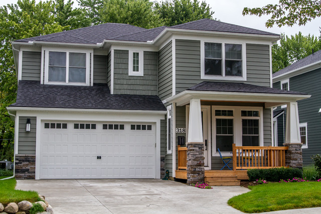 Custom Home Craftsman Style Craftsman Exterior By
