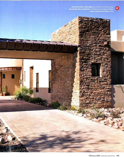 Custom Home Design By I Plan Llc Featured In Arizona