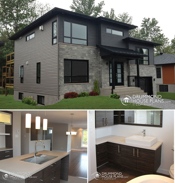 Custom Home Design In Photos Raleigh Nc Drummond House Plans