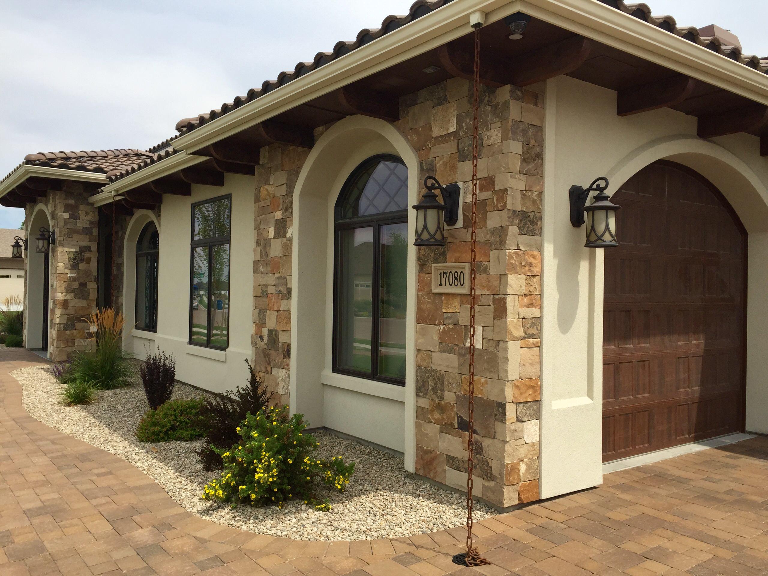 Custom Home Exterior Design by Quality Home Builders