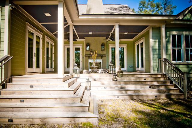 Custom Home Exterior traditional-exterior
