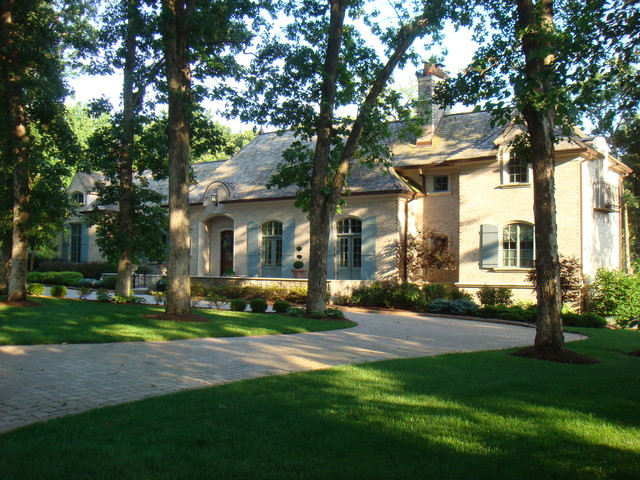custom home exterior traditional exterior st louis by will