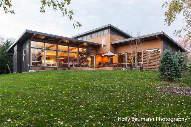 custom home exteriors for steven kibler architect modern exterior