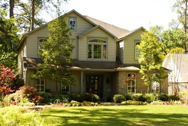 Custom Home Exteriors Transitional Exterior