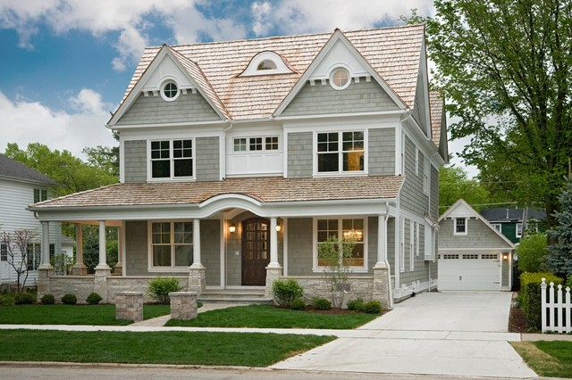 Custom Home Exteriors Chicago By Oakley Home Builders