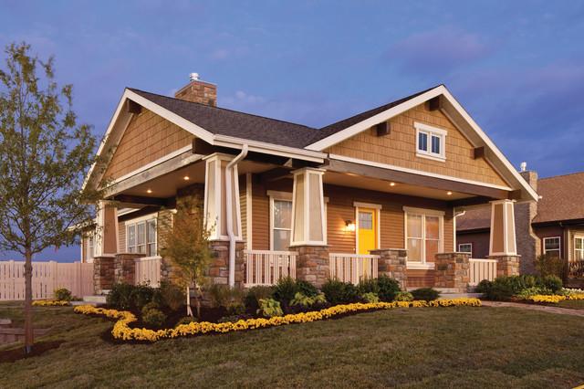custom home exteriors craftsman exterior