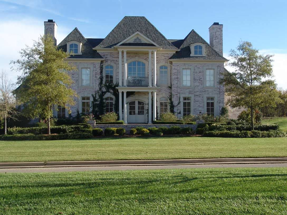 CUSTOM HOME, GOVERNOR'S CLUB, BRENTWOOD, TN.
