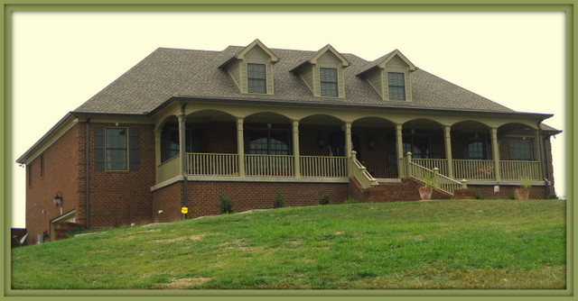 Custom Home in Franklin, TN traditional-exterior